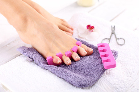 french pedicure: Healthy, well-groomed nails, natural beauty