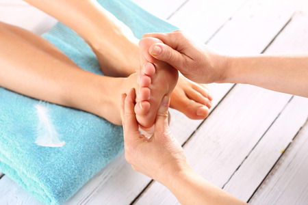 Relajante masaje de pies ThaiRelaxing tailandesa