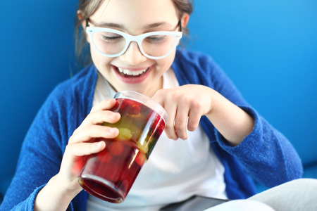 fruit jelly: Colored dessert, fruit jelly
