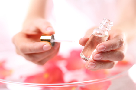 womens hands: Manicure, natural beauty of the womens hands