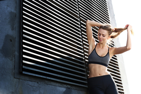 stretching condition: Fashion for sport