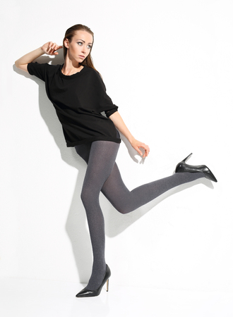 shapely legs: Tights pressure free
