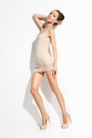Shapely female legs