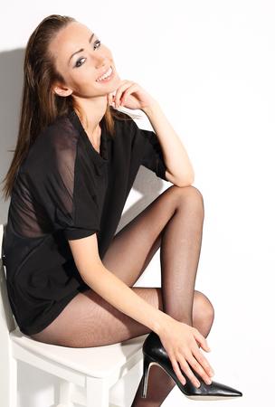 sexy füsse: sch?ne Frau Lizenzfreie Bilder