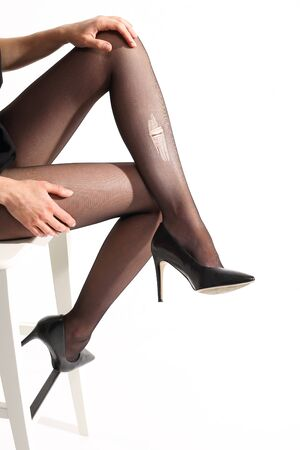 shapely legs: woman  s legs Stock Photo