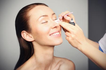 Cosmetic, eyelash extensions