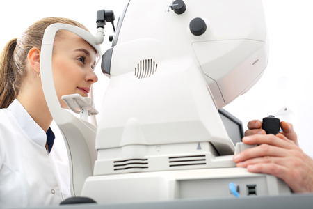 examen de la vista: Prueba de la visión por ordenador.
