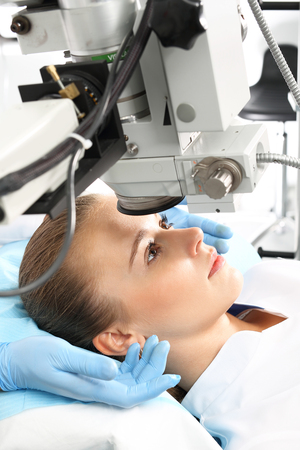 Vision correction. Ophthalmologist