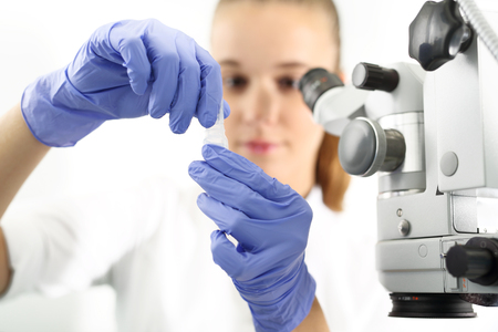 laboratory: Medical laboratory, research and analysis.