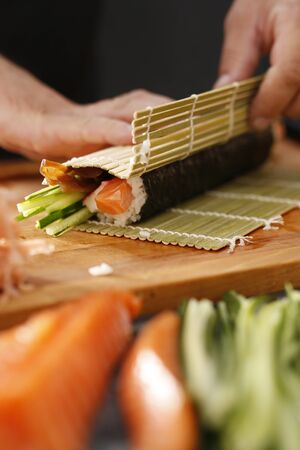 japanese sake: Cocina japonesa, sushi