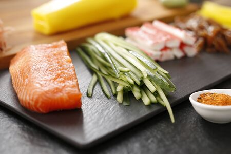 cuisines: Cuisines of the world, Japanese sushi Stock Photo
