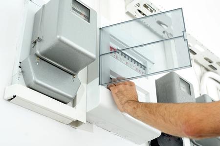 Elektrische Reparatur, Schaltstrom.