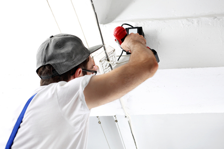 lighting technician: Installation of electrical wiring
