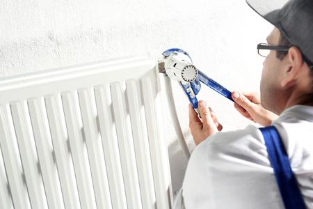 fitter: Plumber. Comprehensive maintenance services, plumbing