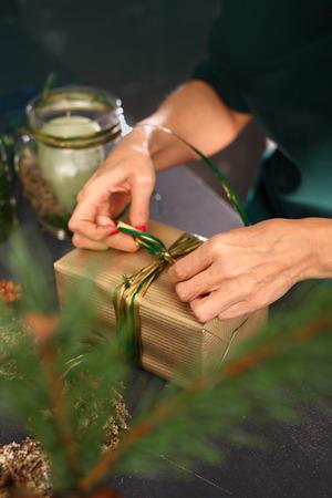 florists: Florists, art decoration. Christmas decoration