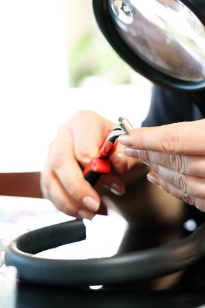 jewelery: Jewelry, atelier jewelery Stock Photo