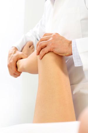 orthopedist: Rehabilitation. The doctor orthopedist
