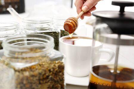 herbolaria: Té endulzado con miel