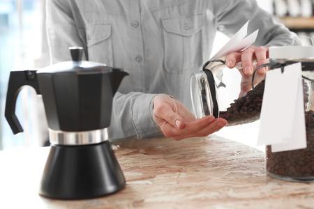 espresso: Pressure coffee percolator coffee makers Stock Photo