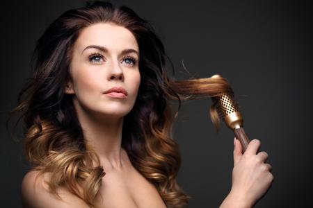 do układania włosów
