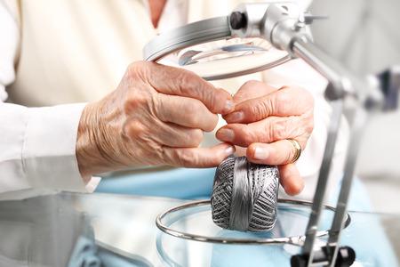 hobby: Grandmas hobby, embroidering