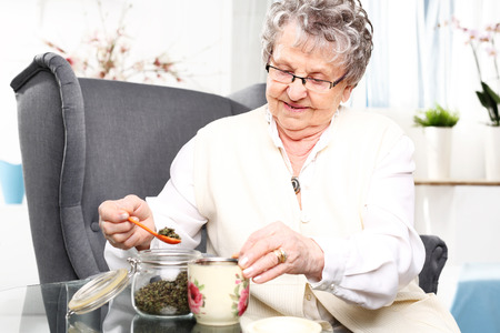 grandmas: Grandmas herbs for colds.