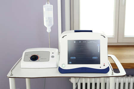 varicose veins: Medical equipment for the removal of varicose veins.