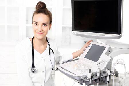 sonogram: ultrasound Stock Photo