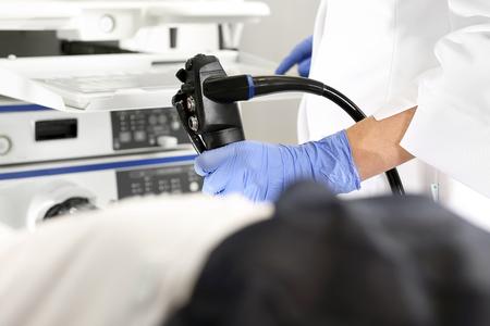 大腸内視鏡検査。