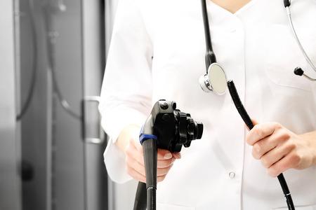 gastroenterologist: Colonoscope, gastroscope.