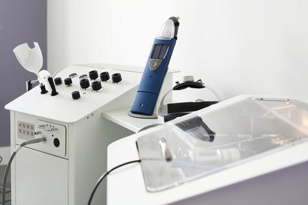 Equipment diagnostic hearing tests. Equipment laryngological for hearing tests Standard-Bild