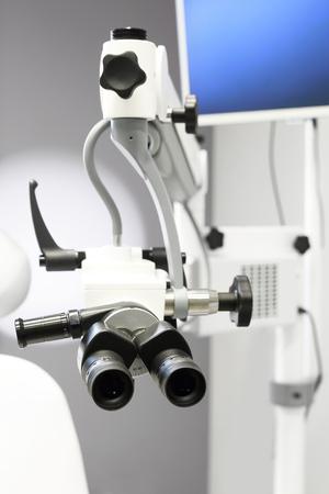 endoscope: Otoscope. Cabinet laryngological