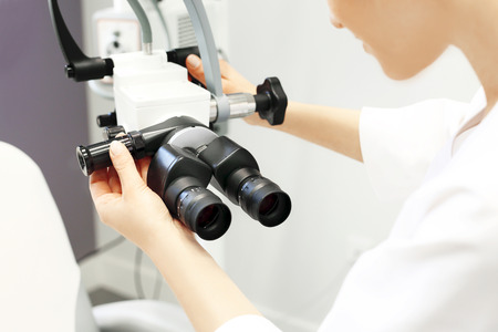 endoscopic: Doctor laryngologist.