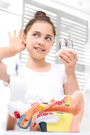 Otolaryngologist, selection of hearing aid.