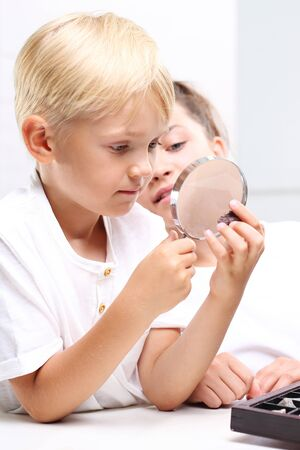 teaching aid: Childrens curiosity. Collector