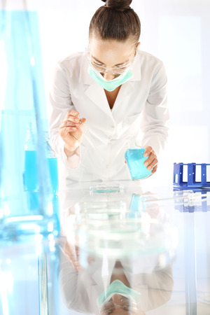 analytical chemistry: Biotechnology and genetic engineering.