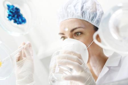 pathologist: Chemistry. Chemist Carried out a scientific experiment.