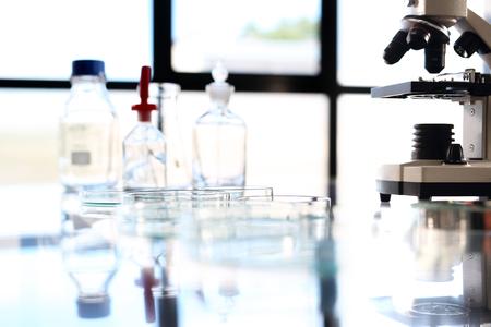 analytical chemistry: Diagnostic Laboratory. Stock Photo