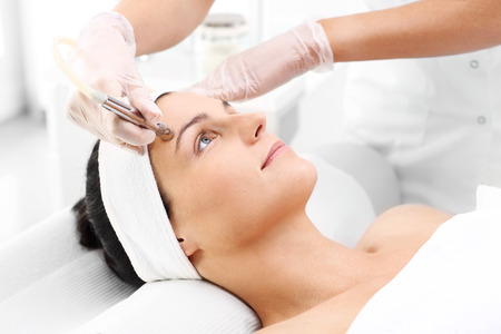 Diamond microdermabrasion beauty salon, microdermabrasion