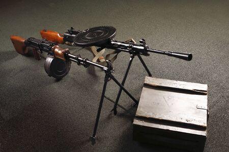 armament: Light machine gun