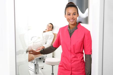 Dermatologist's office Standard-Bild
