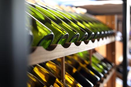 Wine cellar. Stock Photo