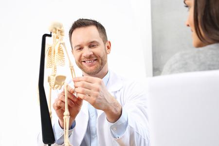 Orthopaedist. Medical specialist.