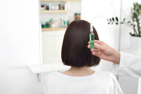 Hair ampoule. Professional care.