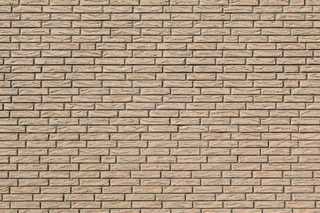 clinker tile: Detalle de una fachada con revestimiento de paredes de color beige en la mirada de piedra de azulejos estrechas y alargadas Foto de archivo