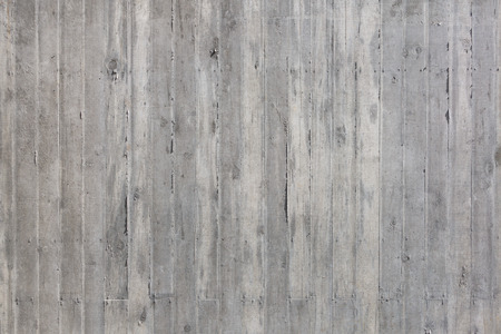 Coarse made, gray wall of exposed concrete Stock Photo