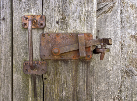 locking: Old rusted locking