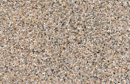 on aggregate: Colorful Exposed aggregate concrete