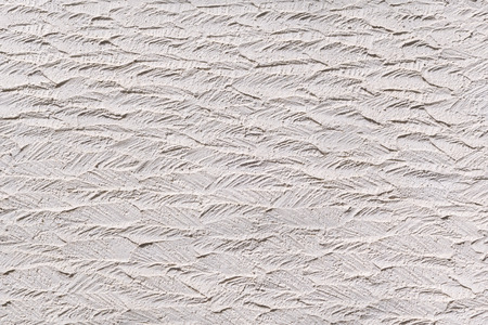 plasterwork: White plasterwork with abstract texture