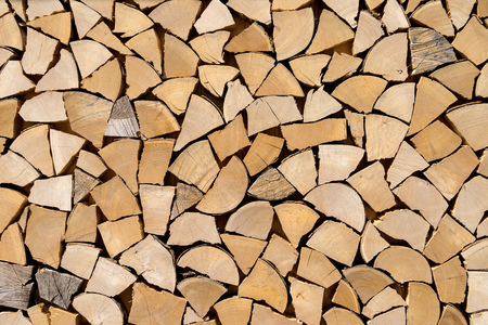 woodpile: Imitated woodpile of Shortwood pieces